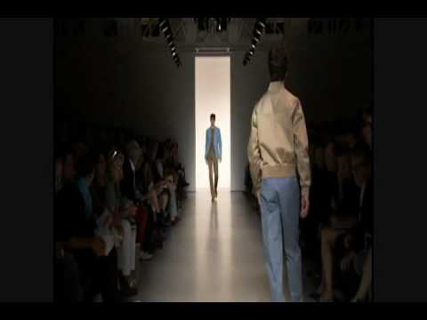 Calvin Klein Menswear Spring Summer 2011 fullshow Part 1 of 2 Video