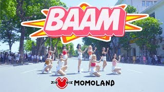[KPOP IN PUBLIC CHALLENGE] MOMOLAND (모모랜드) - BAAM (배앰) DANCE COVER by BLACKCHUCK