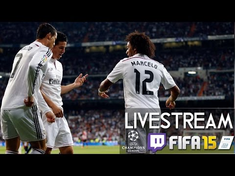 REAL MADRID 3 : 4 FC SCHALKE 04 - CHAMPIONS LEAGUE 1/8 Finale | Prognosen [FIFA 15 LIVESTREAM]