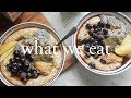 What We Eat in a Day   ft Morning Routine