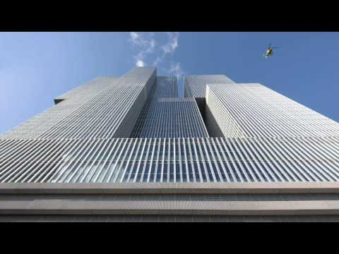 Rem Koolhaas speaks about his De Rotterdam tower