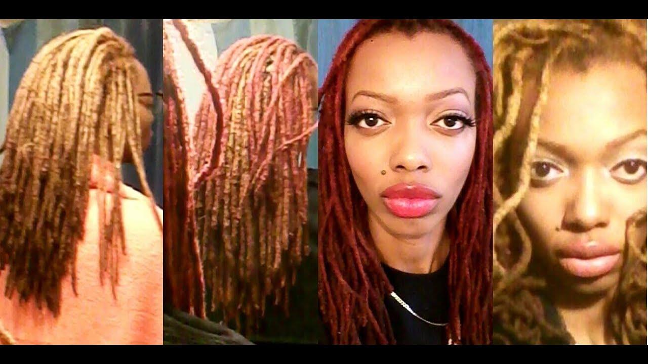 Color Rinse Vs Dye Semi Permanent Red Dye On My Blonde