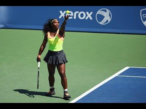 Serena Williams vs Simona Halep - FINAL CINCINNATI 2015 Highlights