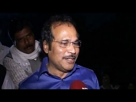 I don't care if I am arrested, says union minister Adhir Ranjan Chowdhury