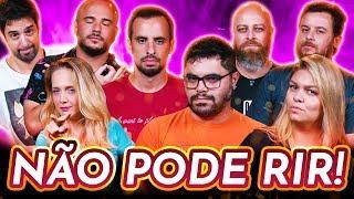NÃO PODE RIR! - com PROFESSORES(Rafael Procopio, Noslen Borges, Carol Mendonça e Ueslei Reis)