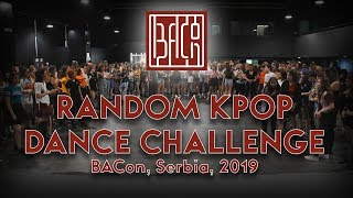 Random Kpop Dance Challenge | BACon 2019 | KCrew Serbia
