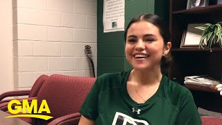 Selena Gomez heads back to her middle school | GMA Digital
