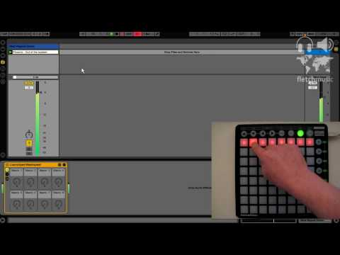 Using Novation Launchpad to trigger Beat Repeat (with Automap MIDI)