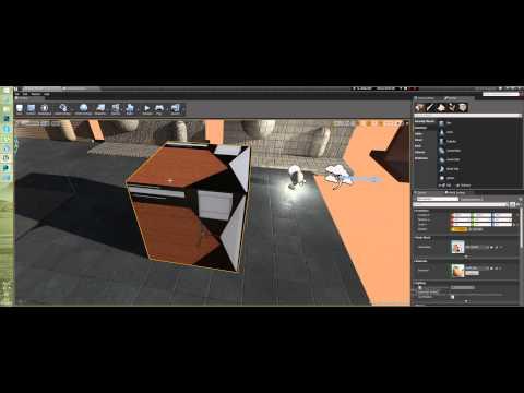 Уроки Unreal Engine 4 - Развертка для LightMap