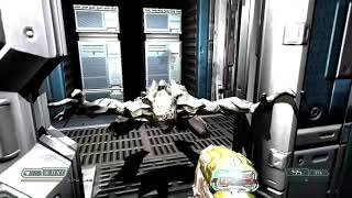 DOOM 3- Glitched out Imp