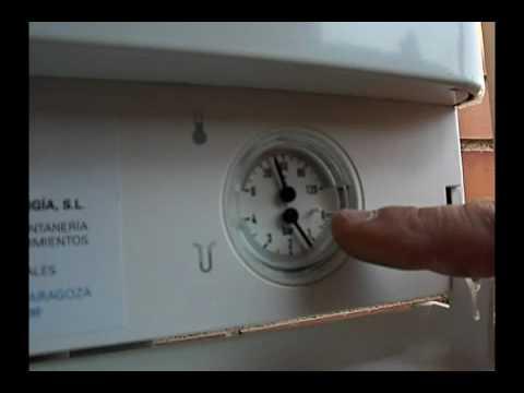 Como bajar la presion de la caldera