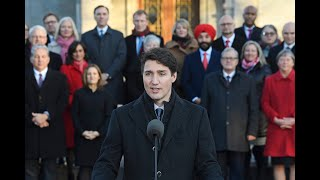 Trudeau unveils new cabinet