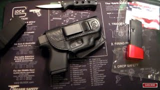 Glock 43 With Laser Holster from Braids Holsters!