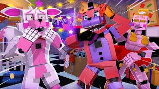 Minecraft Fnaf: Sister Location - The Replacements Animatronic (Minecraft Roleplay)