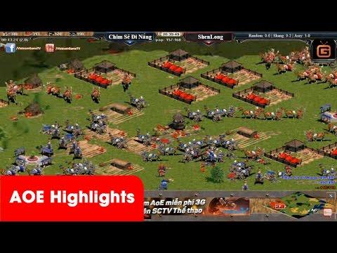 AOE Highlights - Phút thứ 30 trong game 1 tỷ người Trung Quốc đã tin Long nhưng không... | Aoe