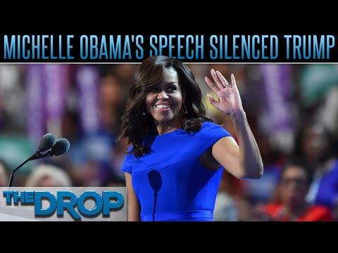 Michelle Obama's Speech Defines Low-key Shade - The Drop Presented by ADD