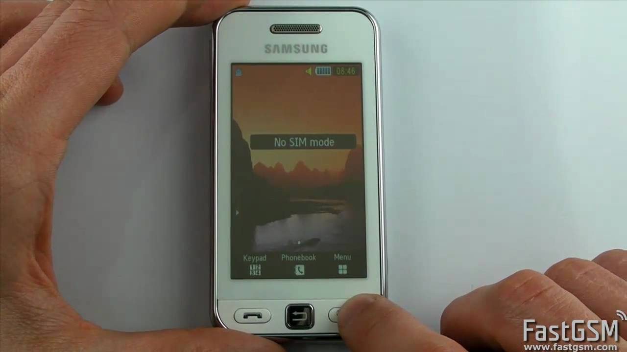 Samsung gt-c5220 unfreezing removes phone freeze in just seconds