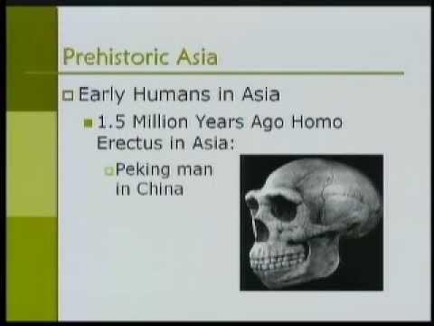 Asian Civilization-Part03-Pre-Historic Asia