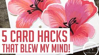 5 Card Making Hacks That Blew My Mind!