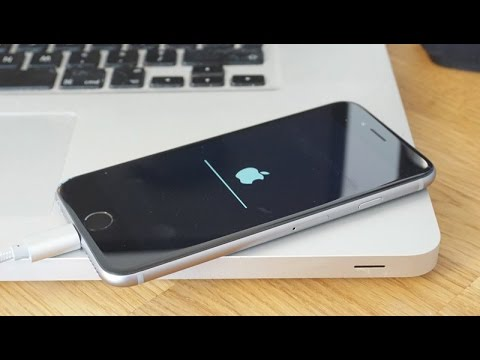 Iphone откат прошивки 6