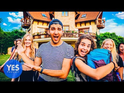 16 STRANGERS IN A MANSION OVERNIGHT!!