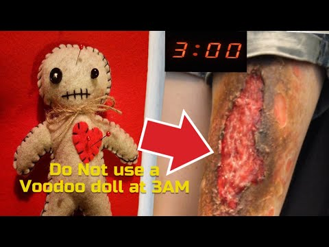 Do Not use a Real Life Voodoo Doll at 3AM