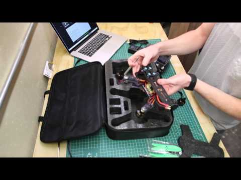 LHI QAV 250 Drone Quadcopter and RadioLink AT9 Transmitter