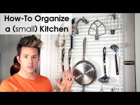How To Organize A Small Kitchen - Theodore Leaf