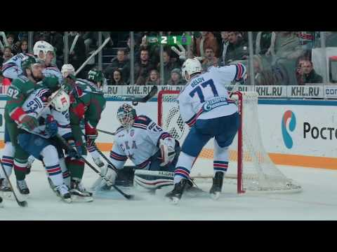 Обзор матча Ак Барс - СКА Санкт-Петербург