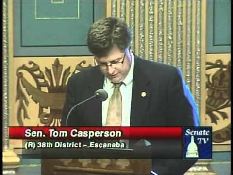 Senator Casperson defends Senate passage of an unemployment insurance benefits extension