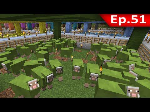 Tackle⁴⁸²⁶ Minecraft 1.7.9 #51 ต้องดู สิ่งที่คนไม่เคยทำกับ Farm แกะ เล่นไปบ่นไป