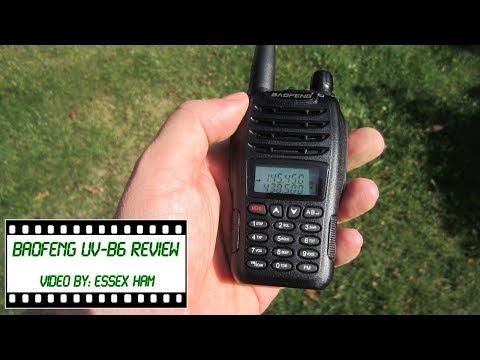 Baofeng UV-B6 Amateur Radio Review