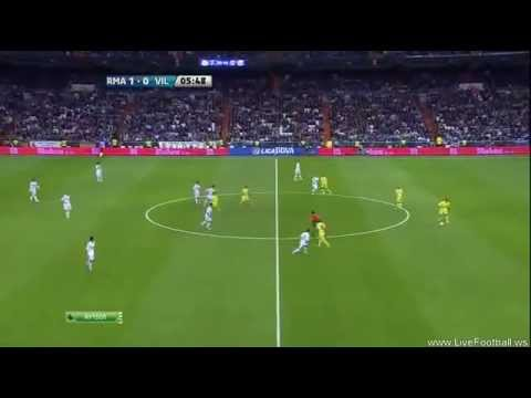 Real Madrid 1-0 Villarreal (Benzema) 26/10/11