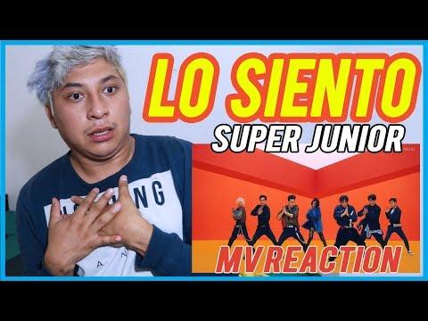 SUPER JUNIOR LO SIENTO Feat. Leslie Grace *La dieron Total* | KPOP Reacción | Shiro No Yume