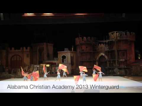 Alabama Christian Academy Winter Guard and Percussion Ensem