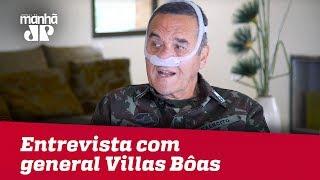 Brasil está 'à deriva' e sem projeto para o futuro, afirma general Villas Bôas