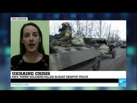 UKRAINE - Three soldiers killed despite truce