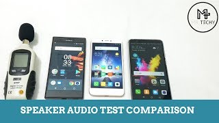 Sony Xperia R1 Plus VS Xiaomi Redmi 5A VS Honor 7X - Speaker Audio Test Comparison