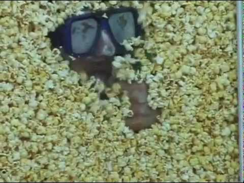 Crazy Legs Conti eats his way out of The Popcorn Sarcophagus