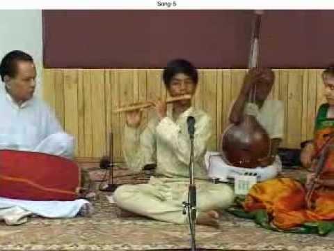 J.A.Jayant's Flute Master Piece (Panthuvarali)