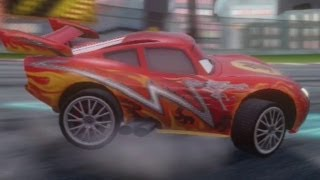 CARS ALIVE! Cars 2 gameplay - Dragon Lightning McQueen on Ginza Sprint