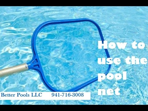 How to use the pool net.