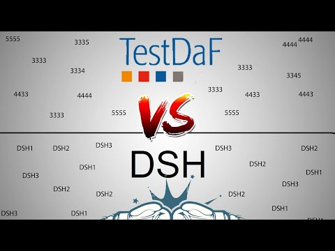 TestDaF VS DSH الفرق بين