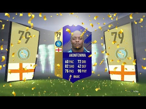 FIFA 18: TOTS Akinfenwa (79) Player Review - FIFA 18 Ultimate Team Player Review!