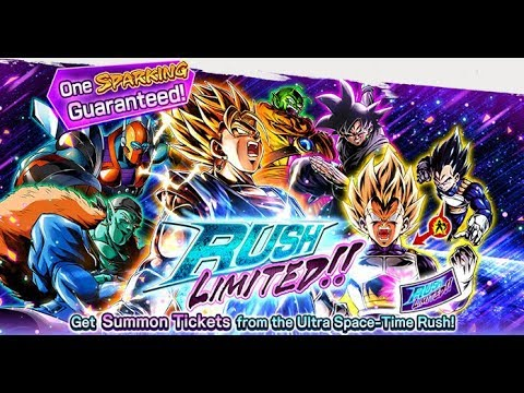 Download  RUSH LIMITED GSP SUMMONS! - ULTRA SPACE-TIME RUSH 5 LAST BOSS IS EASY NOW - Dragon Ball Legends Gratis, download lagu terbaru