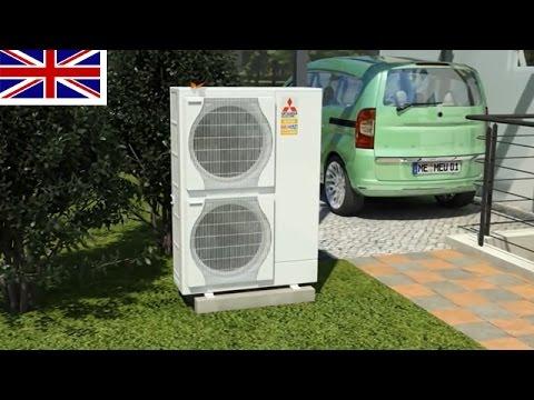 Ecodan Heat Pump System Mitsubishi Electric Youtube