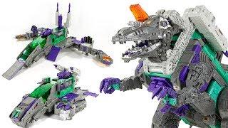Transformers Titans Return Titan Class Decepticon Necro TRYPTICON Big Dinosaur Toys