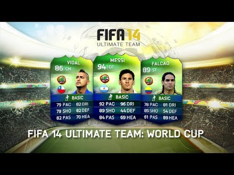 FIFA 14 Ultimate Team World Cup | My Opinions