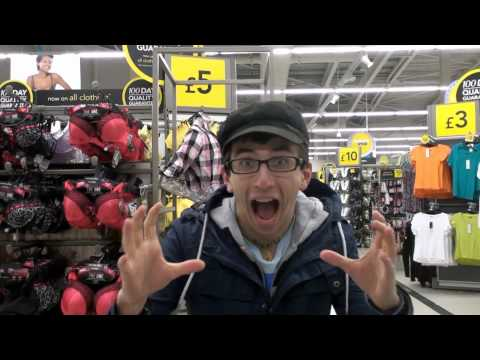 The Pink Panther in ASDA [Hidden Camera] Full HD