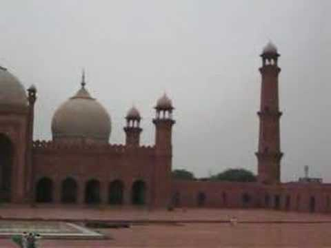 Badshahi Mosque Lahore View14 June 2008 Pakistan